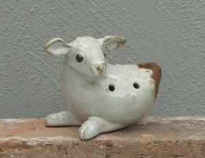 Lergök lamm