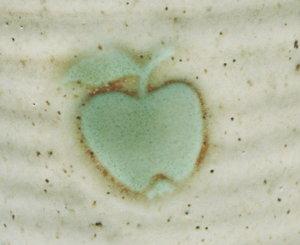 Keramik-kanna äpple 1 liter, 5 dl, 2 dl